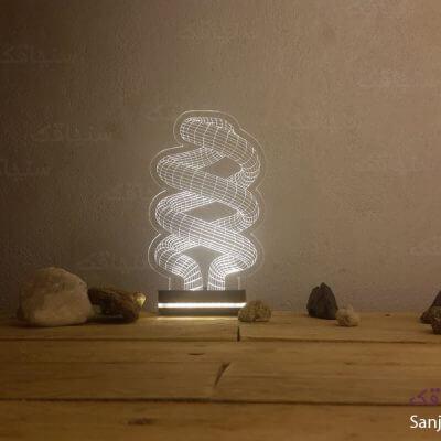 تصویر بالبینگ طرح لامپ کم مصرف