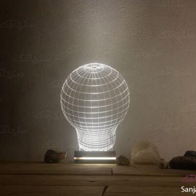 تصویر بالبینگ طرح لامپ