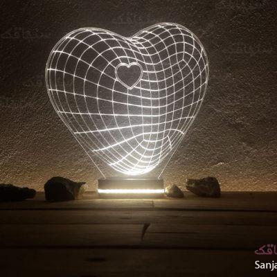 تصویر بالبینگ طرح قلب در قلب