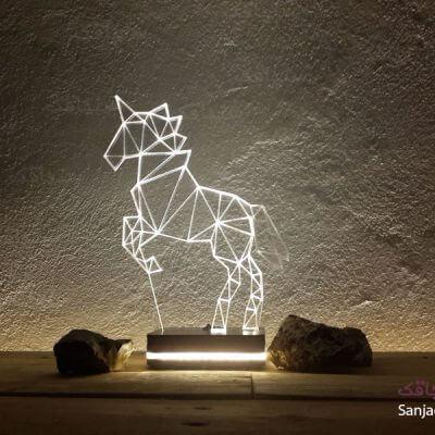 تصویر بالبینگ طرح اسب