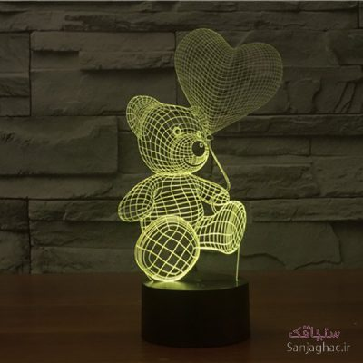 تصویر بالبینگ طرح خرس عروسکی
