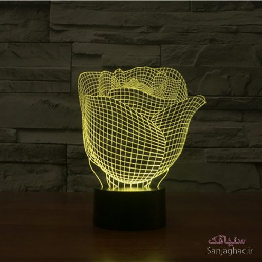 تصویر بالبینگ طرح گل لاله