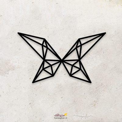 استیکر دیواری چوبی پروانه ، استیکر چوبی دیواری پروانه، استیکر دیواری پروانه، استیکر چوبی پروانه